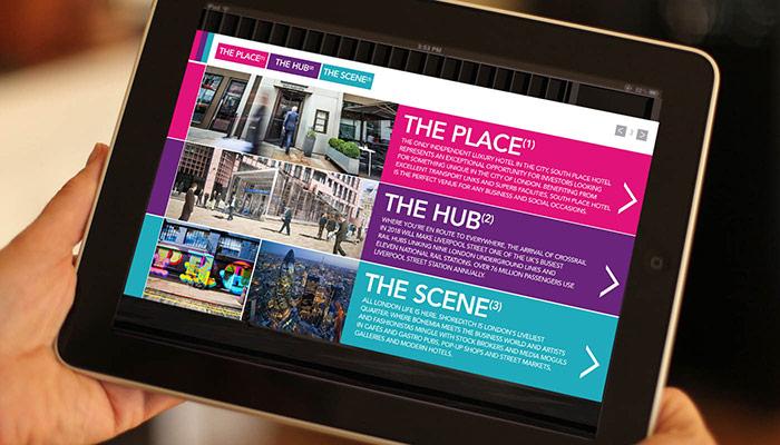 Interactive PDF brochure