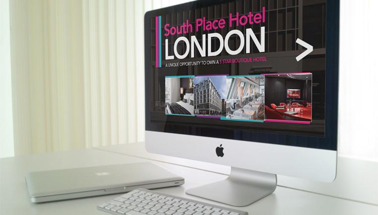 South Place Hotel - digital Media