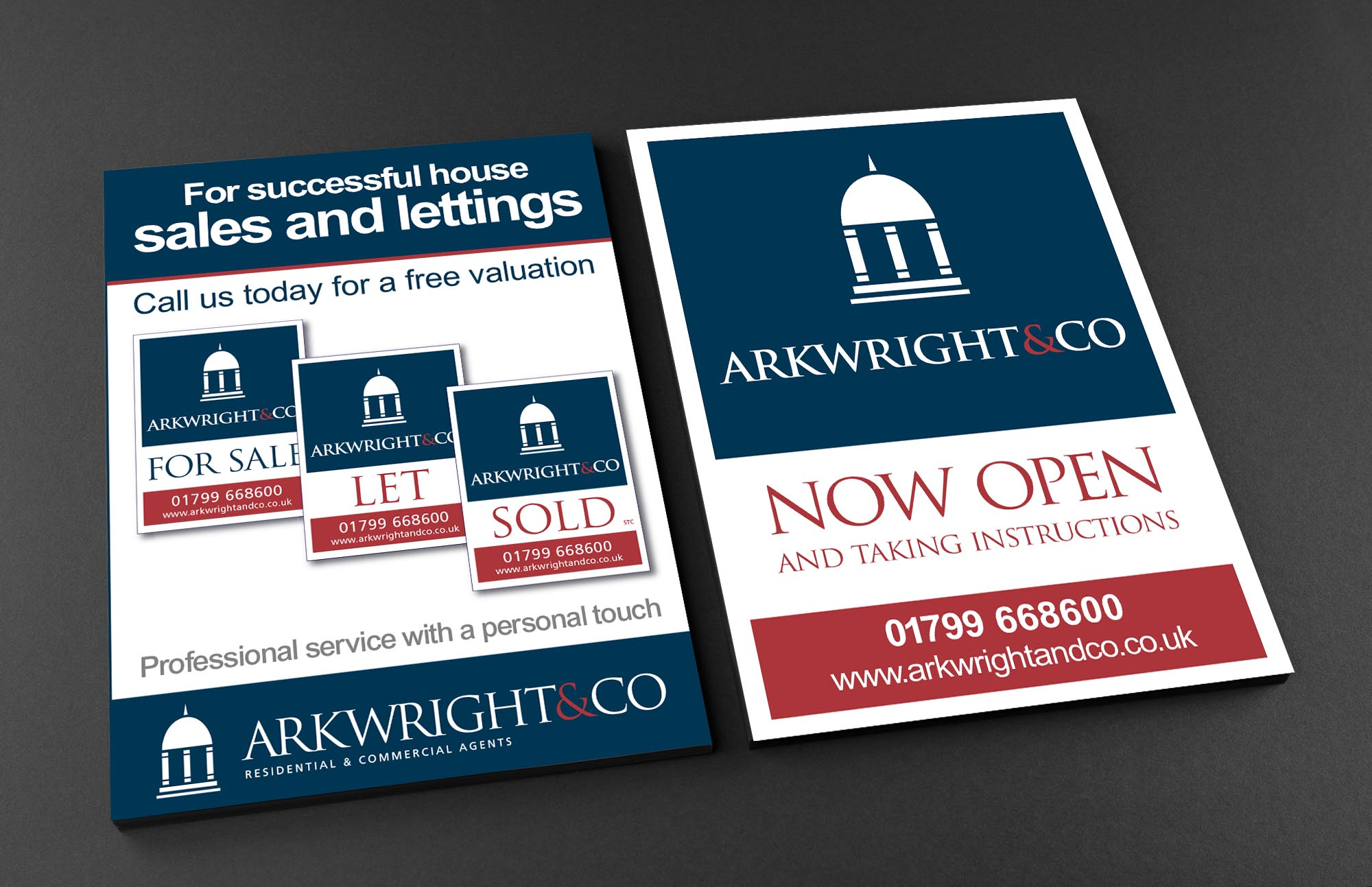 A5 Leaflets Arkwright & Co