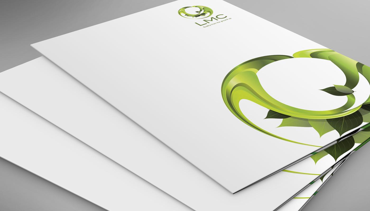 LMC Landscaping Brochure Folder