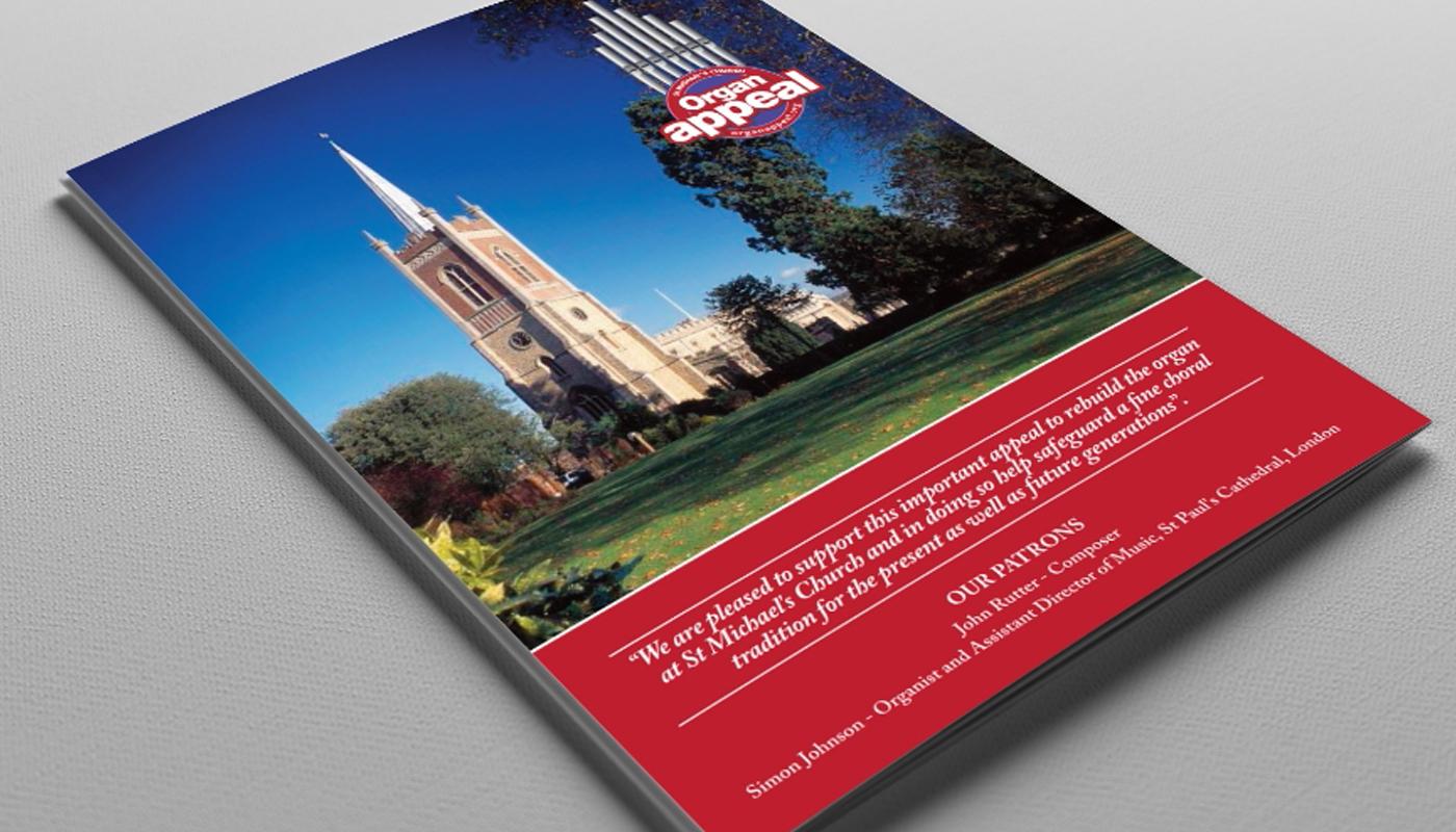 Organ Appeal - Brochure