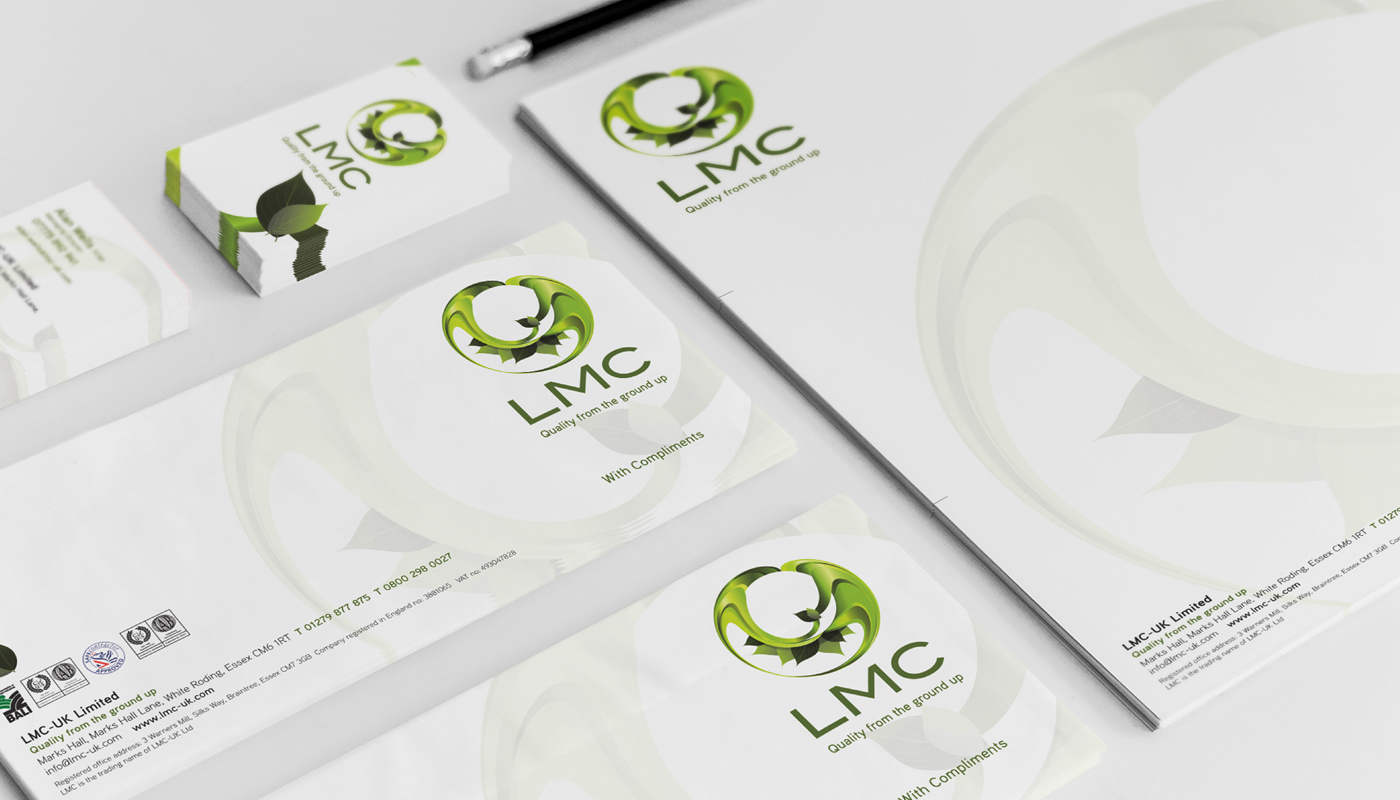 LMC Landscaping Stationery