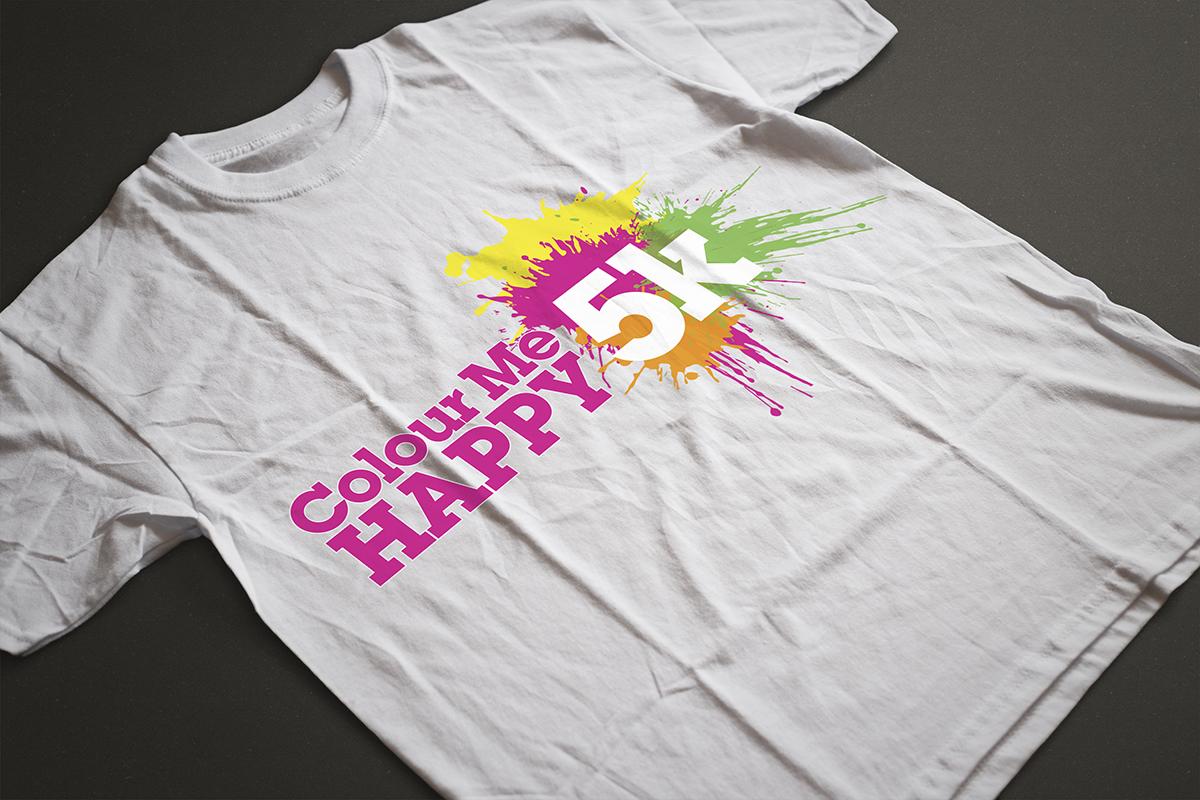 Colour Me Happy 5K - T Shirt