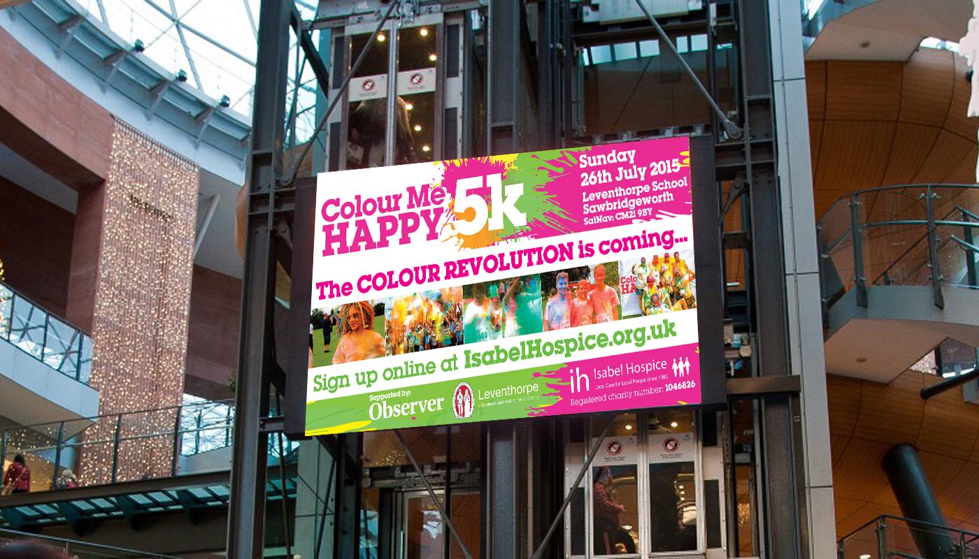 Colour Me Happy 5K - TV Screen