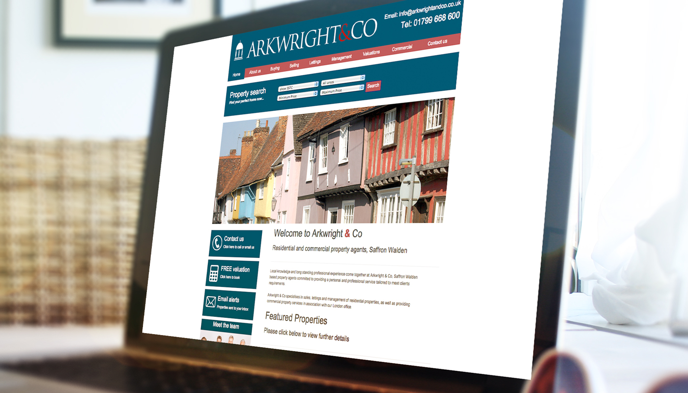 Website Arkwright & Co