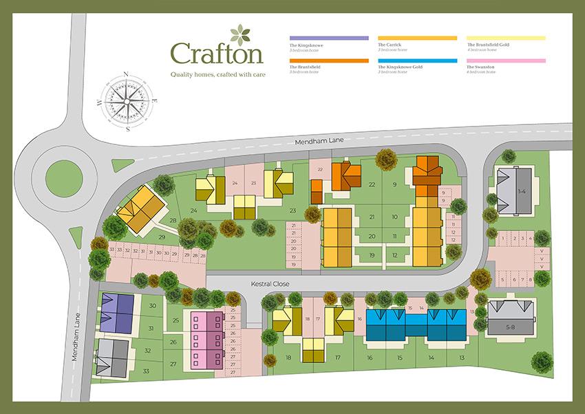 Harleston A2 Siteplan