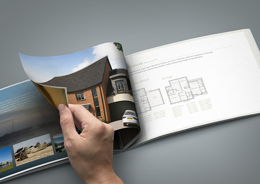 Crafton Homes brochure internal
