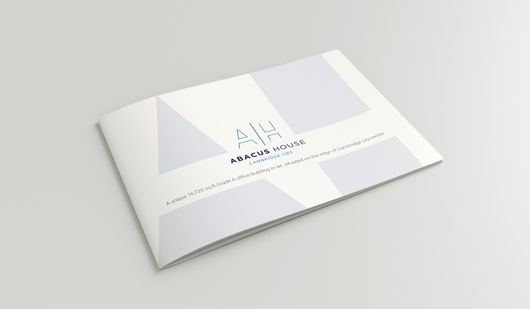 Abacus House, Cambridge, Commercial Property Branding example