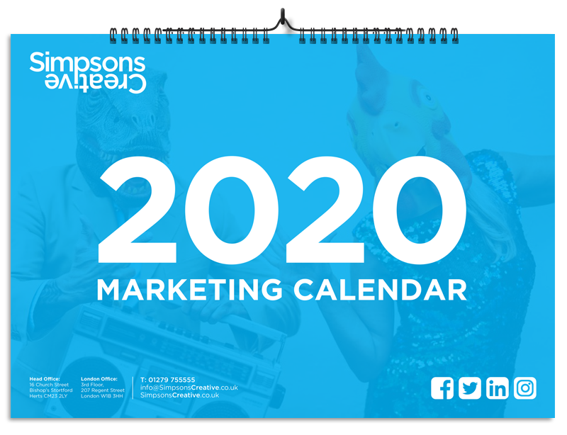 Marketing Calendar (Landing Page)