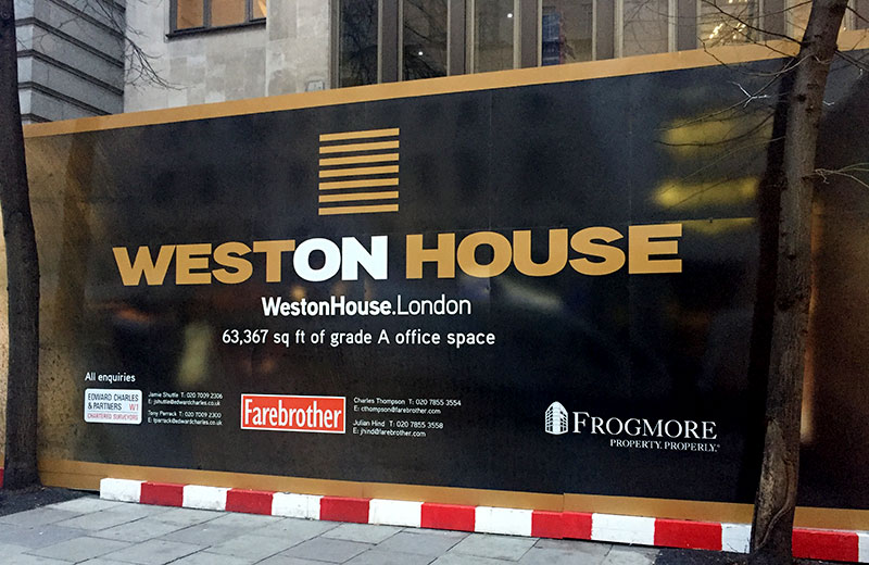 Weston House Branding