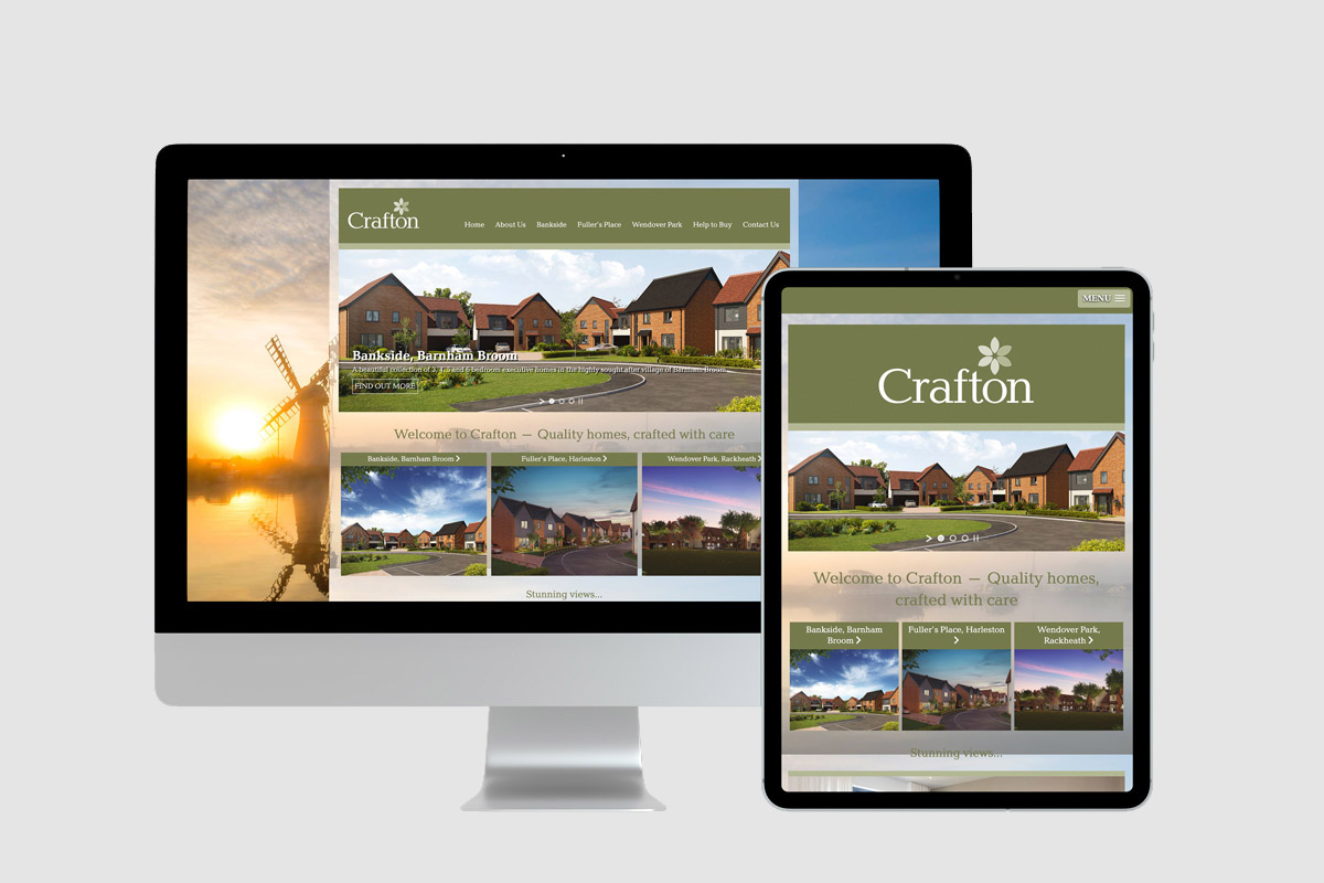 Crafton - Property Developer Website