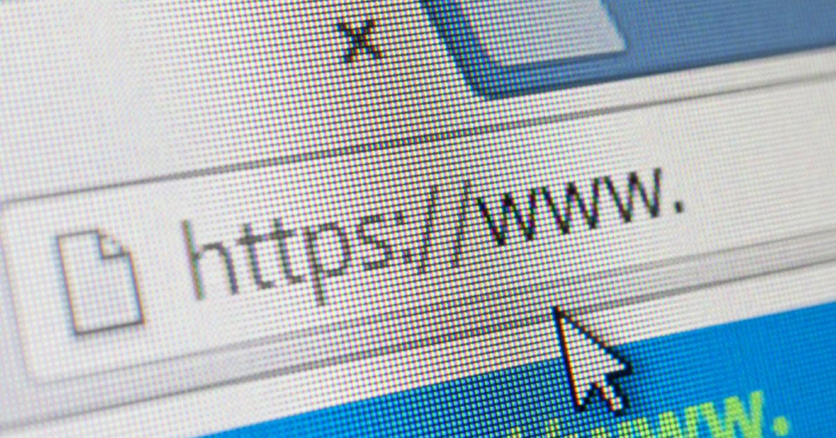 HTTPS website address