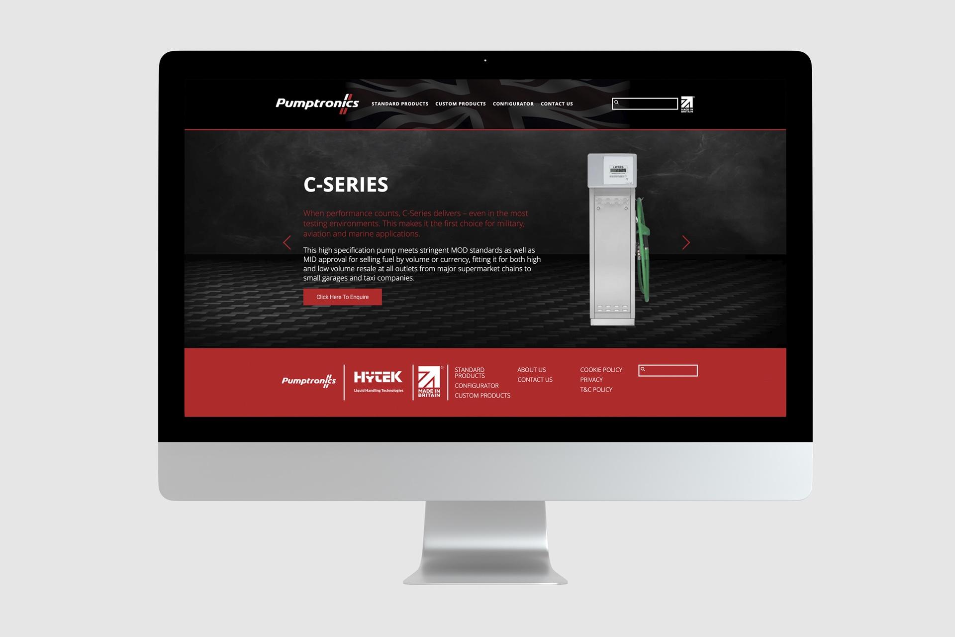New Pumptronics website