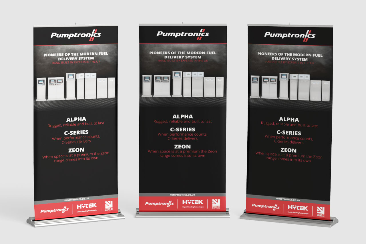 Product banner ups