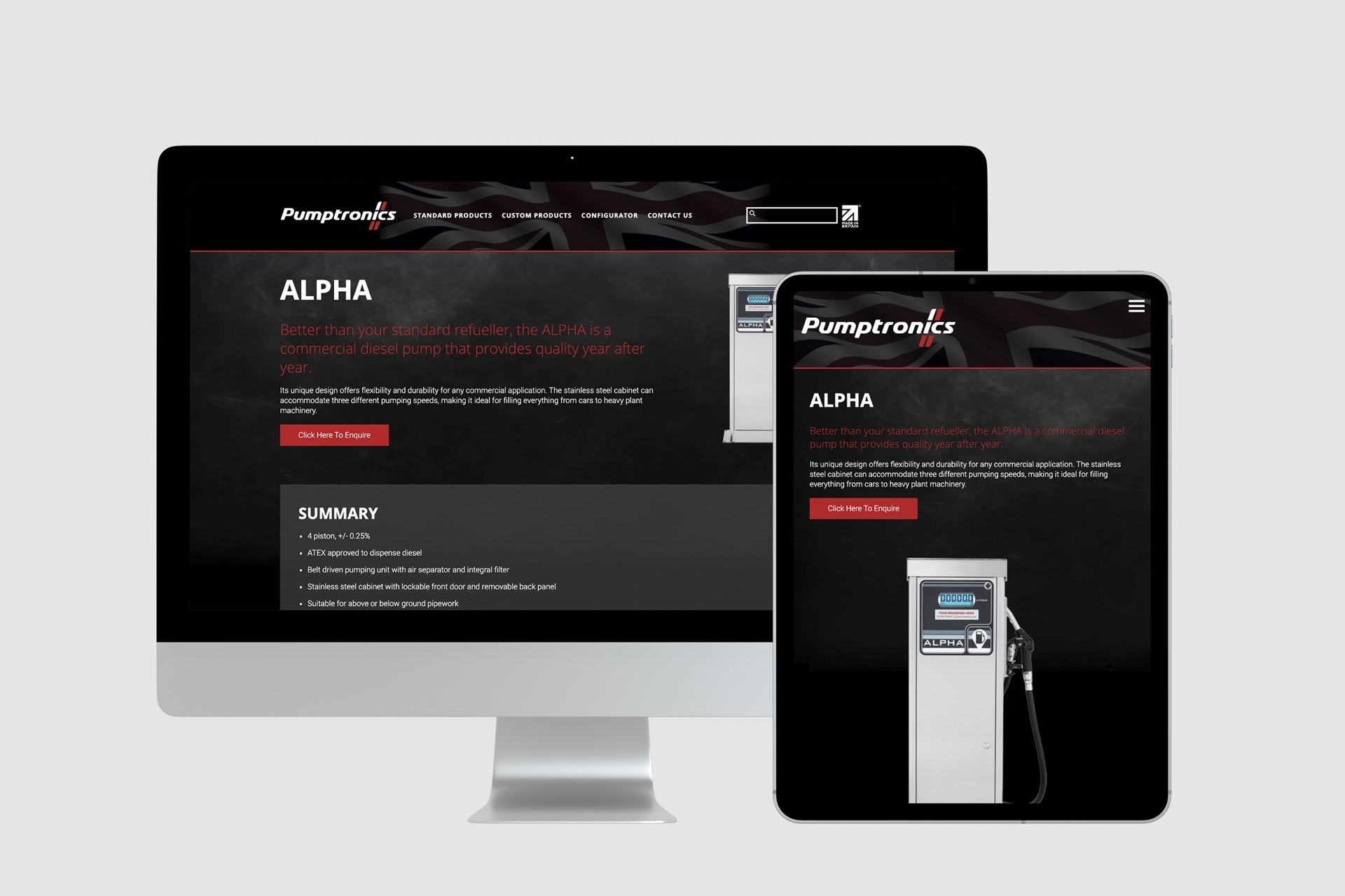 Fully responsive website