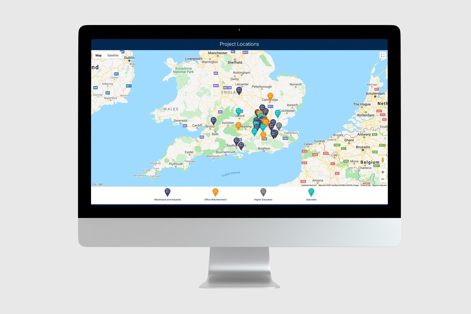 Pexhurst Homepage Map
